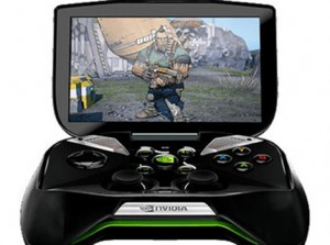Nvidia's Project Shield portable games console