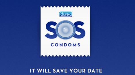 SOS Comdoms. Usa el teléfono móvil y no te quedes sin protección