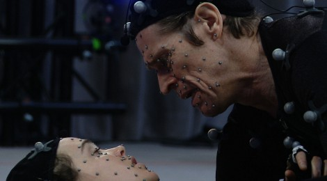 Willem Dafoe y Ellen Page en Beyond Two Souls