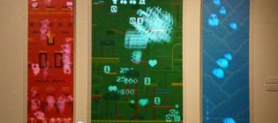 For, otro videojuego en una galería de arte