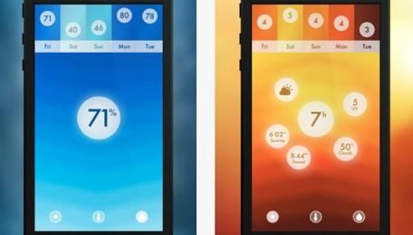 Haze: La información meteorológica al detalle