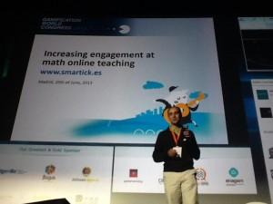 BRMConServ Gamificar a los niños para que aprendan matemáticas con Smartick #GWC13 pic.twitter.com/il4tl3jRWN