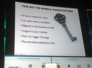 RosetaLeiva Las claves de la gamificación para móviles por @gamygame en #GWC13 @mcompanysport pic.twitter.com/BcDibODDkr