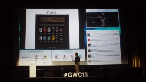 Lucas Mackey @LukMK 20 jun Berni Melero contando la experiencia de Canal+ con Game of Thrones, rrss y apps 2a pantalla. Y sin spoilers! #GWC13 pic.twitter.com/kBmPzP2ink
