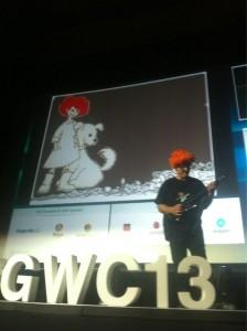 jechuchi Predicando con el ejemplo para cerrar el #GWC13 @bartbriers pic.twitter.com/oE0KnIh3Ms