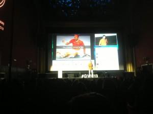 @RosetaLeiva Animando a competir por ventas, aquí hay negocio. Con Jaume Juan en #GWC13 @mcompanysport pic.twitter.com/ejY3yI8XjO