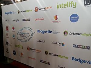 Panel con las empresas patrocinadoras del GWC 2013