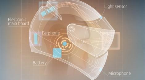 Diseñan un casco de realidad aumentada para motoristas