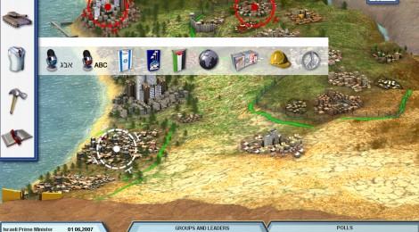 Peace Maker, un juego de estrategia para lograr la paz en Oriente Medio