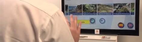 Omnium Lab introduce la tecnología de Kinect en la información turística de Algeciras