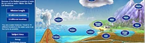 Ayuda a una molécula de agua a llegar al océano en Perfect World