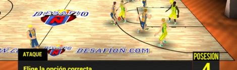 Aprende español jugando al baloncesto con Desafío Ñ
