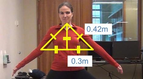 Un videojuego de Kinect permite a los ciegos practicar yoga