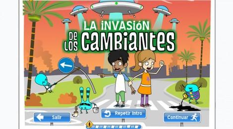 Aprende educación vial mientras evitas una invasión alienígena