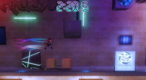 Ninja Pizza Girl, un vertiginoso plataformas contra el bullying