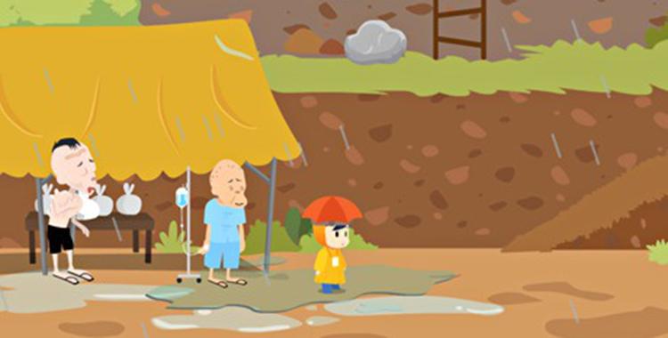 Aprende a sobrevivir a una inundación con Sai Fah: The Fighter Flood