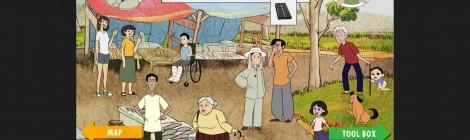 Niña Tierra 2, un videojuego que entrena a la población sobre qué hacer ante un tsunami