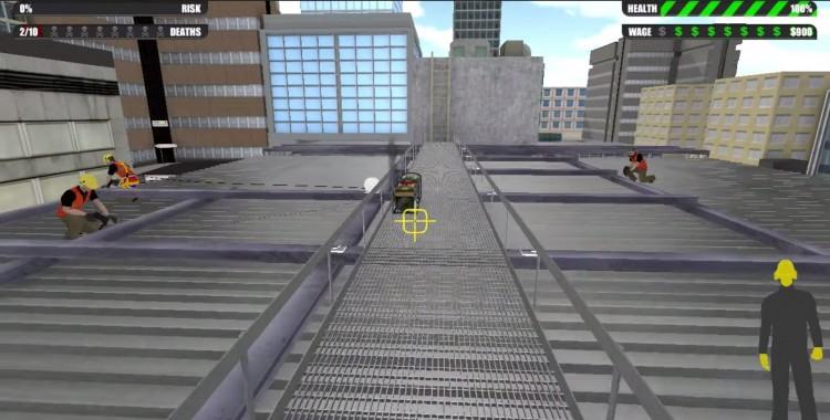 White Card Game, un videojuego en primera persona que entrena en la prevención de riesgos laborales