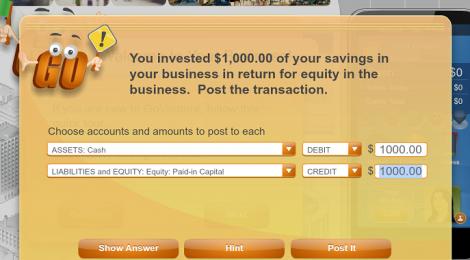 Aprende contabilidad jugando al videojuego GoVenture Accounting